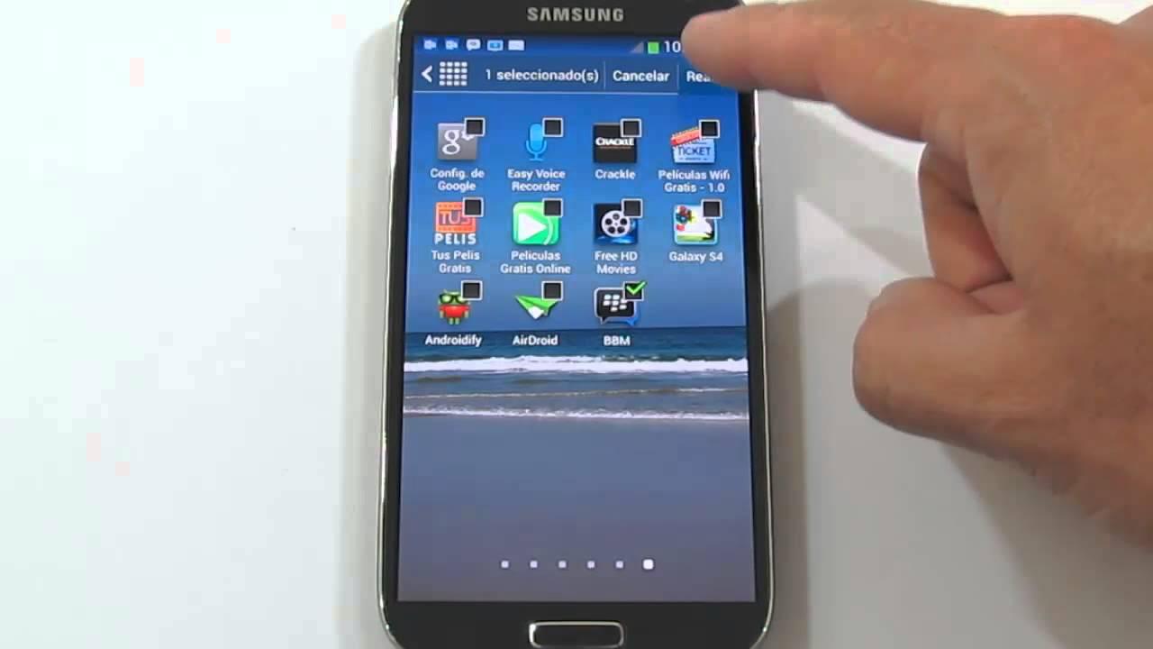 Cómo ocultar imágenes en Samsung J7