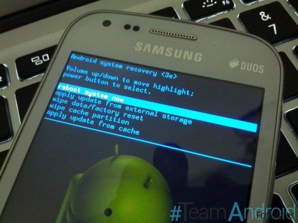 Como hacer recovery en Samsung