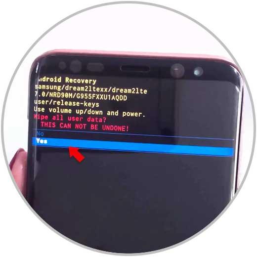 Hard Reset en Galaxy S9