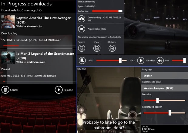 videos de YouTube en Windows Phone