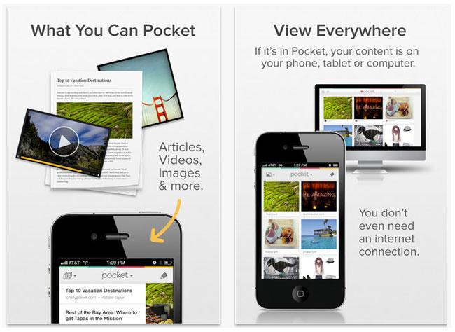 Trucos para usar Pocket