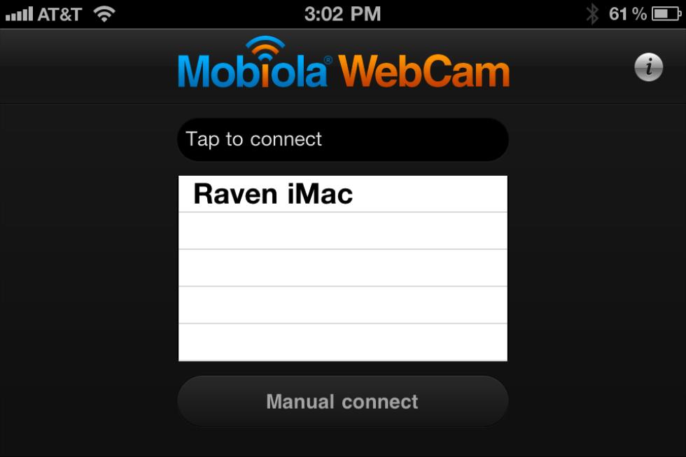 Cámara del móvil como webcam