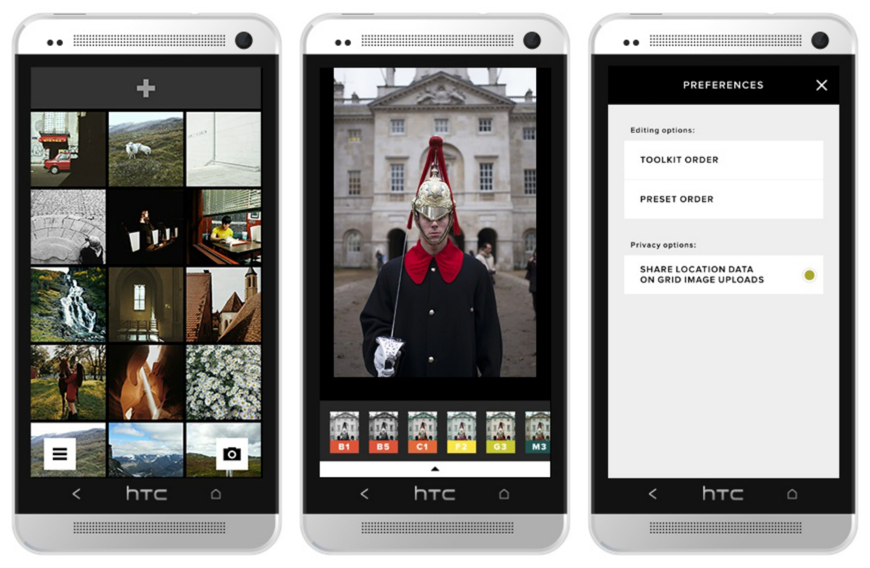 Retocar fotos en Android